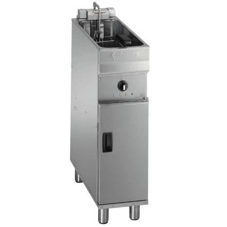 Fritös Valentine EVO 250T, 10 liter med kapacitet på upp till 36 kg/tim.