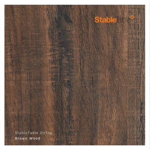 Bordsskiva Kompaktlaminat Brownwood Stabletable