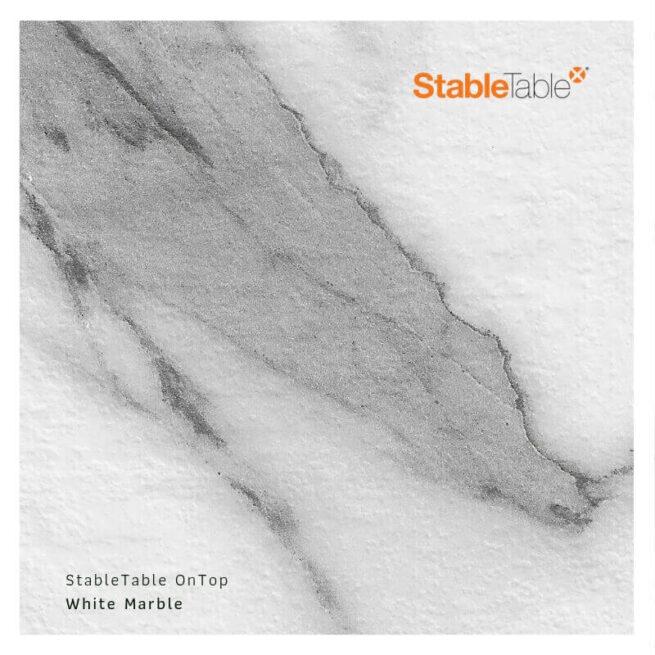 Bordsskiva Kompaktlaminat Whitemarble Stabletable
